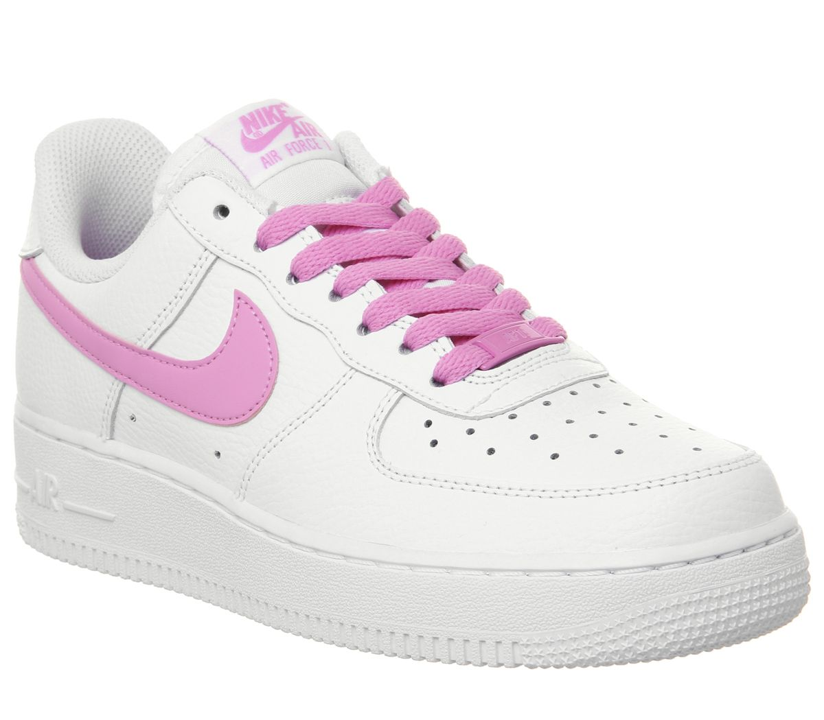 new concept 13bf5 c90da Nike Air Force 1  07 Trainers White Psychic Pink - Hers trainers