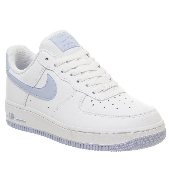 online store 3dc79 e7069 ... Nike, Air Force 1 07 Trainers, White Light Armory Blue ...