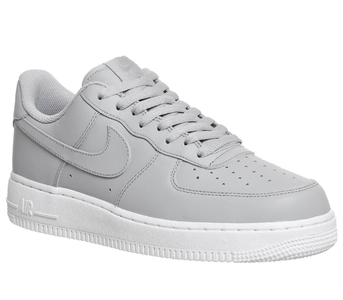best service 58f35 1be59 Nike Air Force 1 07 Trainers Wolf Grey White Grey - His trainers