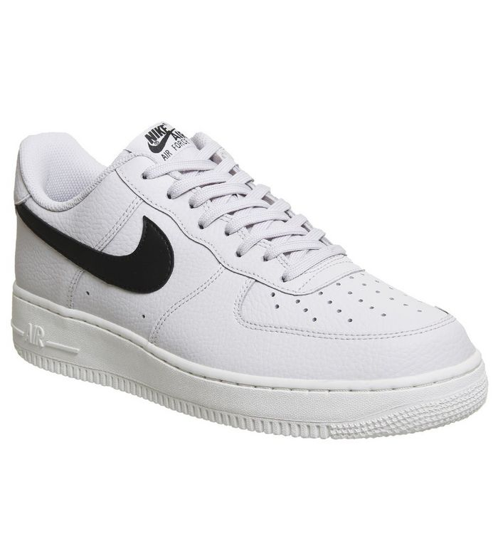 f2411729c0 Nike Air Force 1 '07 Vast Grey Black White - His trainers