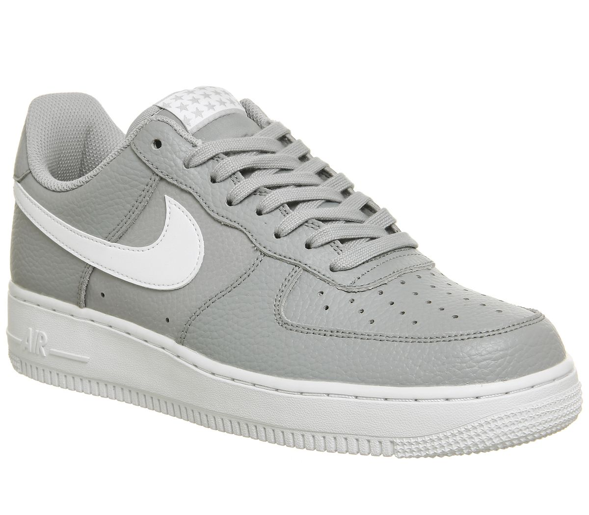 cheaper 673d7 dc3f2 Nike Air Force 1 07 Trainers Wolf Grey White White - His trainers