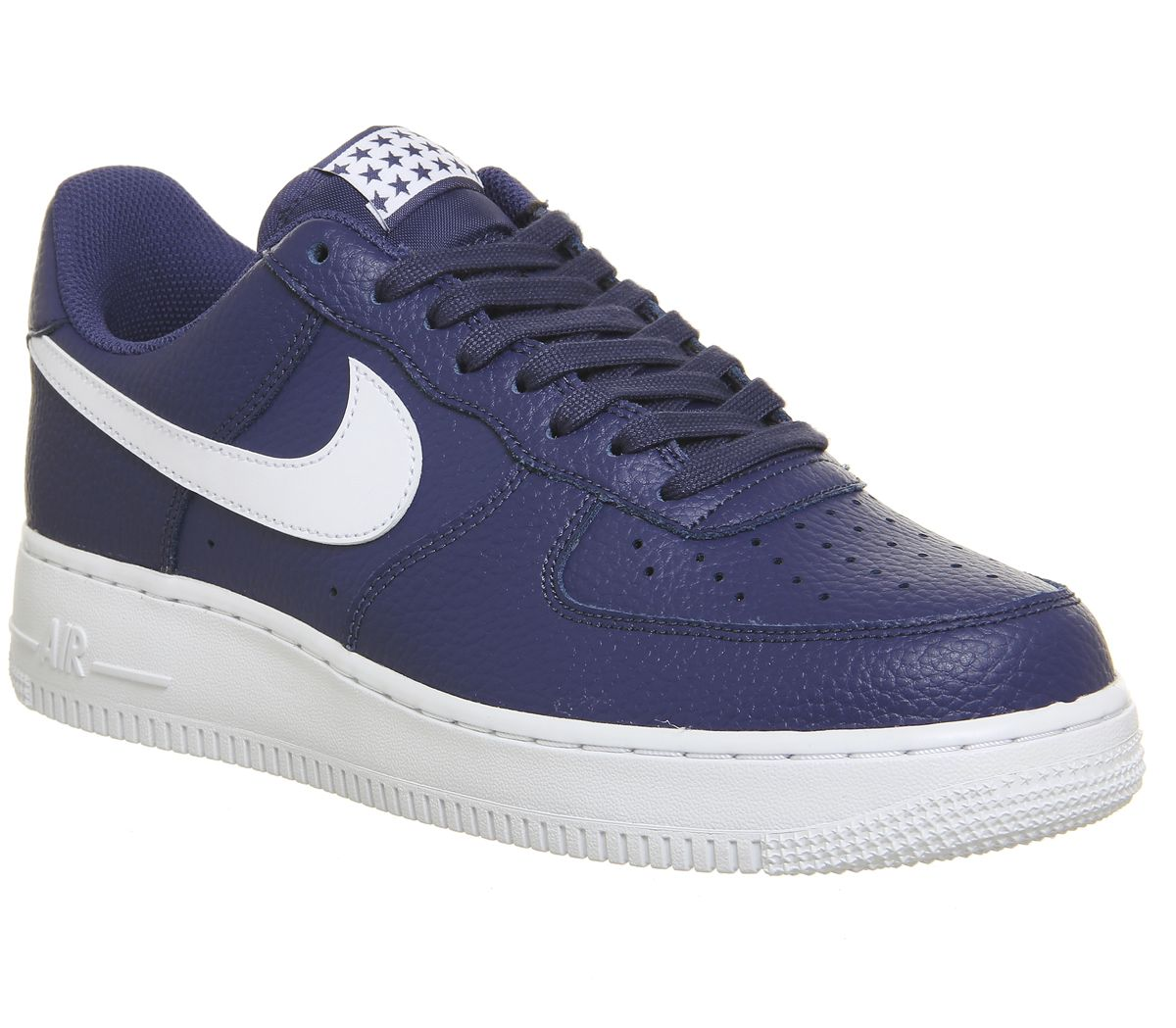 new style c8ba8 2d705 Nike Air Force 1 07 Trainers Blue Recall White - His trainers