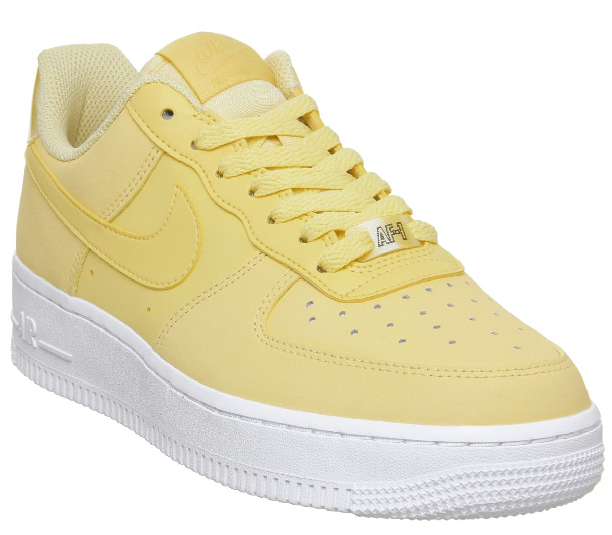 86ab165005baf3 Nike Air Force 1 07 Trainers Bicycle Yellow White - Hers trainers