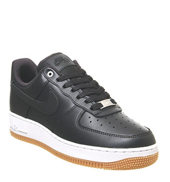 0fdfbf72f Nike Air Force 1 Lv8 Trainers Black White Wolf Grey Gum Medium Brown.  £79.99. Quickbuy. 08-07-2019