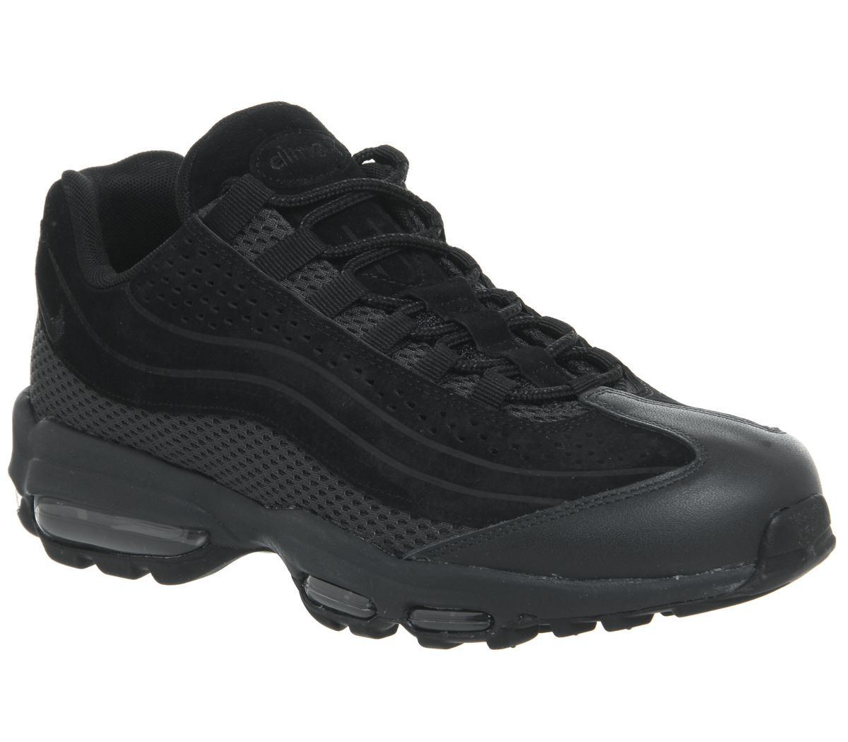 promo code d3be3 d0b04 Nike Air Max 95 Ultra Trainers Black - His trainers
