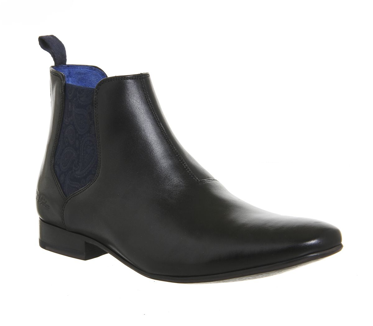 b3798e6c8ca0 Ted Baker Hourb 2 Chelsea Boots Black Leather - Boots