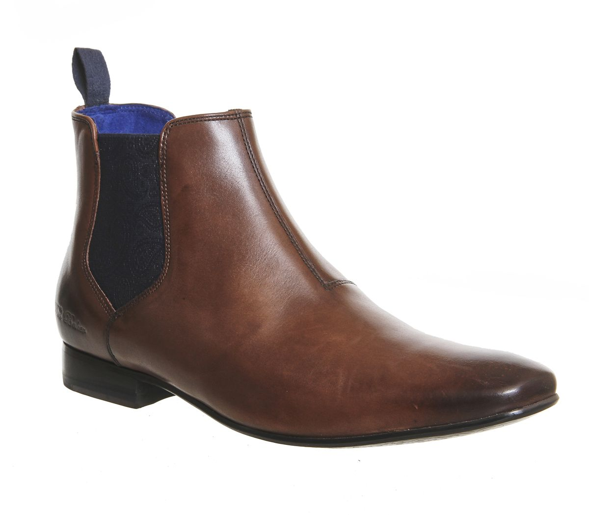 d2116e84861 Ted Baker Hourb 2 Chelsea Boots Brown Leather - Boots