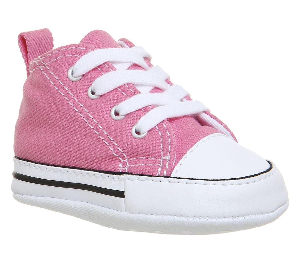 1f3a47e68839 Converse First Star Pink Canvas - Unisex
