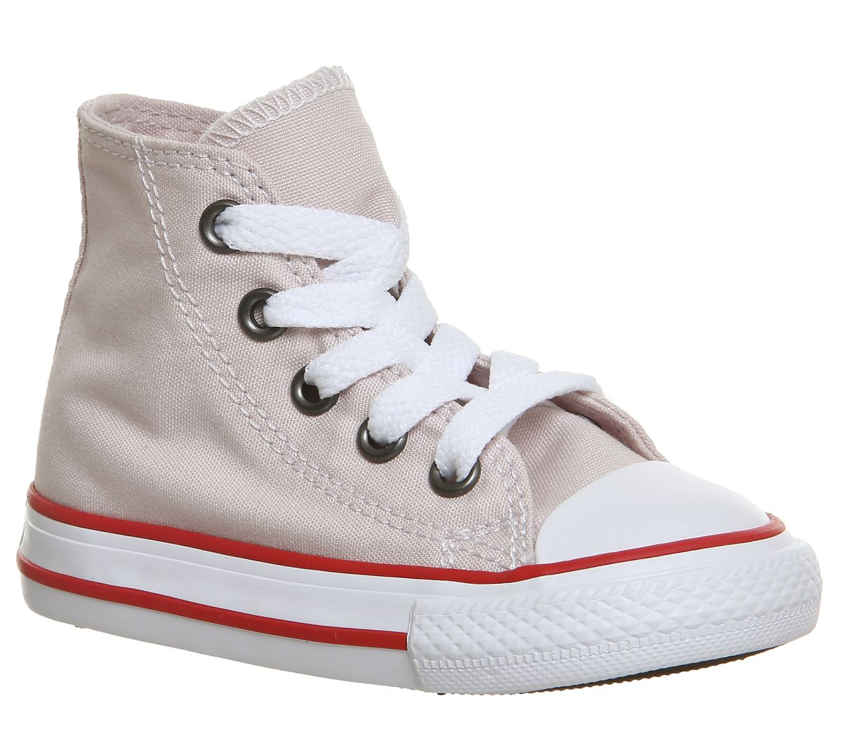 adcc16d377e9 Converse Small Star Hi Canvas Barely Rose Enamel Red - Unisex