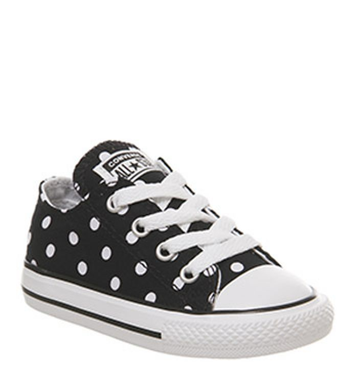 ed6163e447e 07-03-2019 · Converse Allstar Low Infant Trainers Black Polka Dot Exclusive