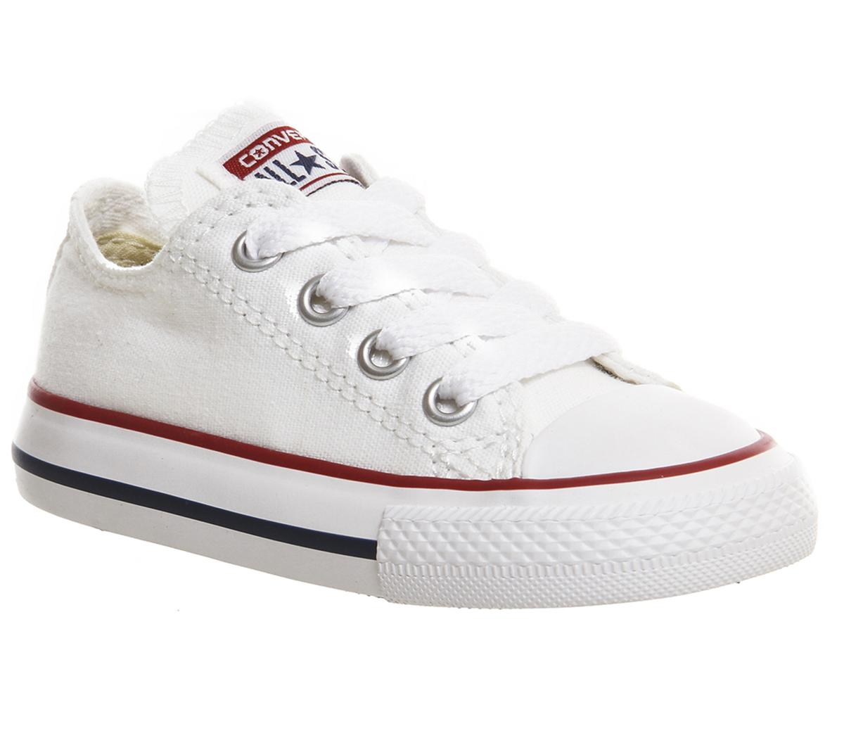 91197c7a254d Converse All Star Low Infant Shoes White - Unisex