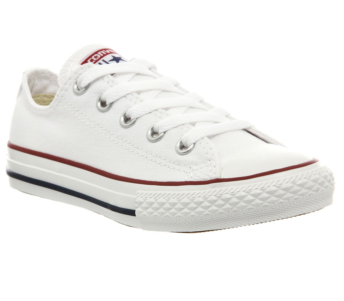 3c9be2c74aae Converse All Star Low Youth Optical White - Unisex