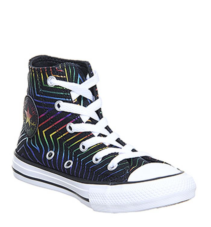 d3c41e5a00b1 Converse All Star Hi Mid Sizes Trainers Black Dino. £39.99. Quickbuy.  18-07-2019