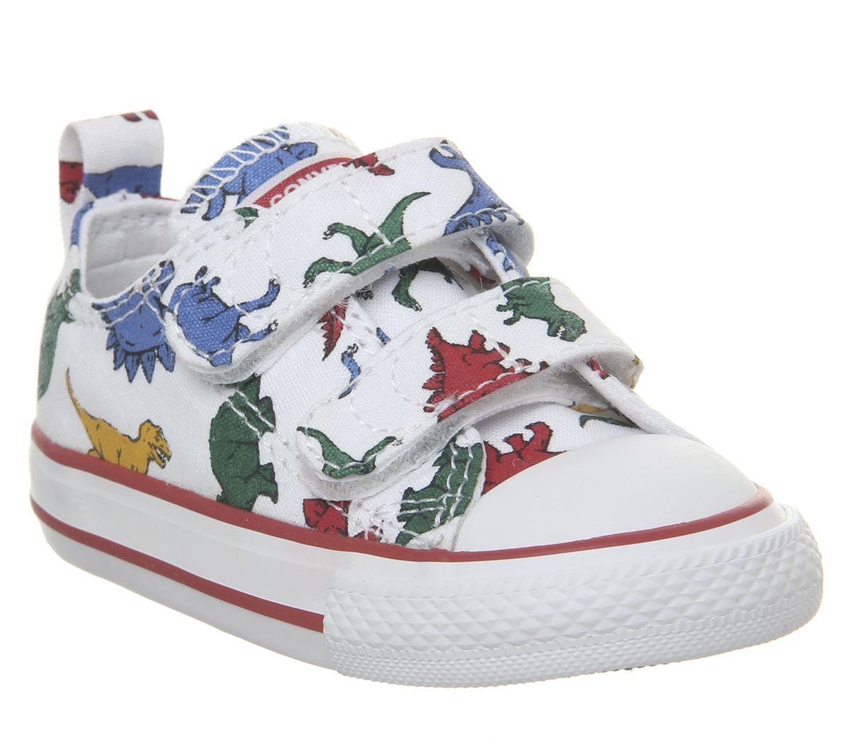 988a3d2a671a Converse All Star 2vlace Trainers White Dinosaur - Unisex