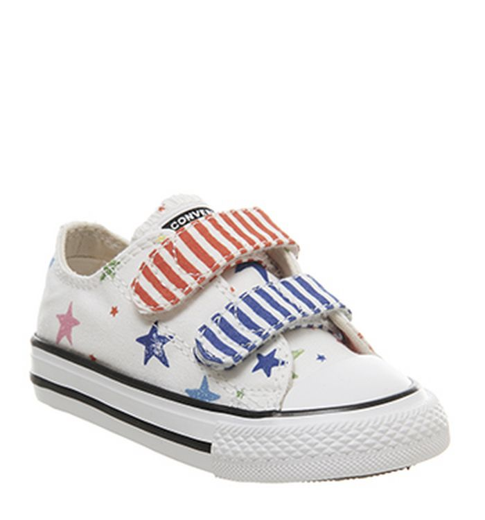 07586ad66943 Converse Star Player Infant Trainers Navy White Red. £29.99. Quickbuy.  05-03-2019