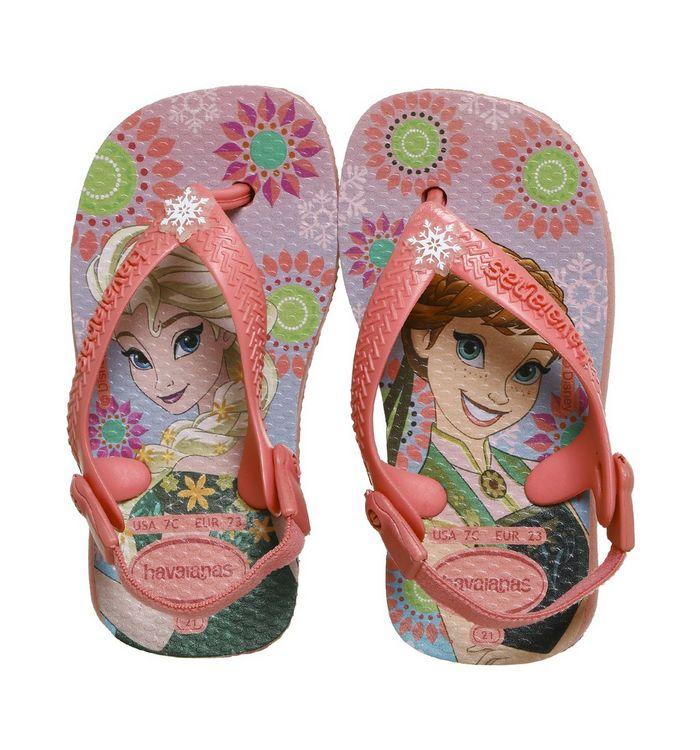 f99c38a1d1377 Havaianas Baby Brazil Sandals Rose Frozen - Unisex