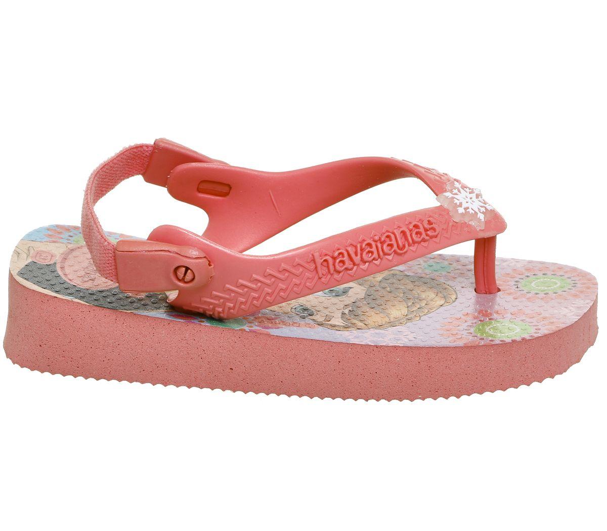 9eff9315a Havaianas Baby Brazil Sandals Rose Frozen - Unisex
