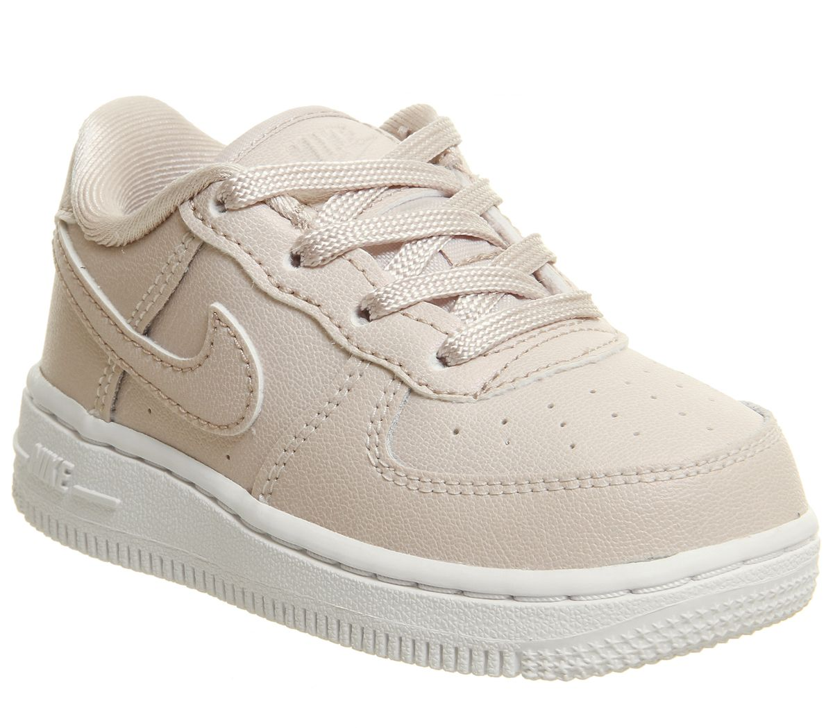 sale retailer bf863 f6981 Nike Air Force 1 Infant Trainers Silt Red White - Unisex