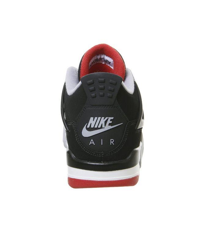 pretty nice fa3b0 a9622 ... Black Red Grey Summit White  Jordan 4 Gs Trainers  Jordan 4 Gs Trainers   Jordan 4 Gs Trainers ...