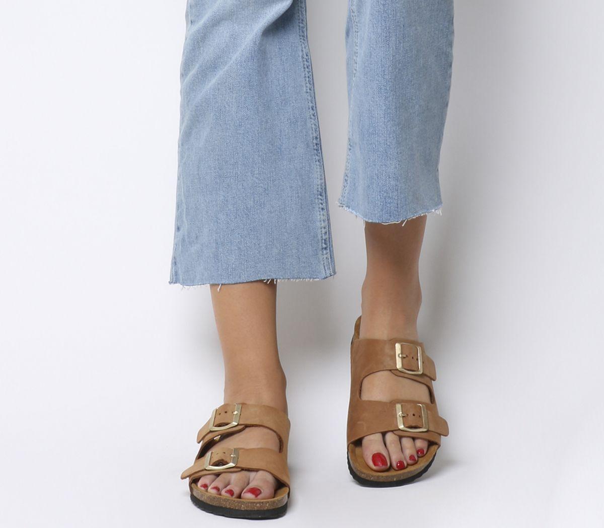 cc2085584 Office Hype 2 Double Strap Sandals Nude Nubuck - Sandals