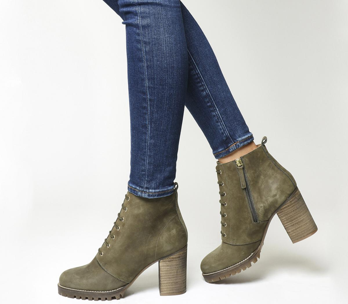 Loose Lipped Lace Up Ankle Boots