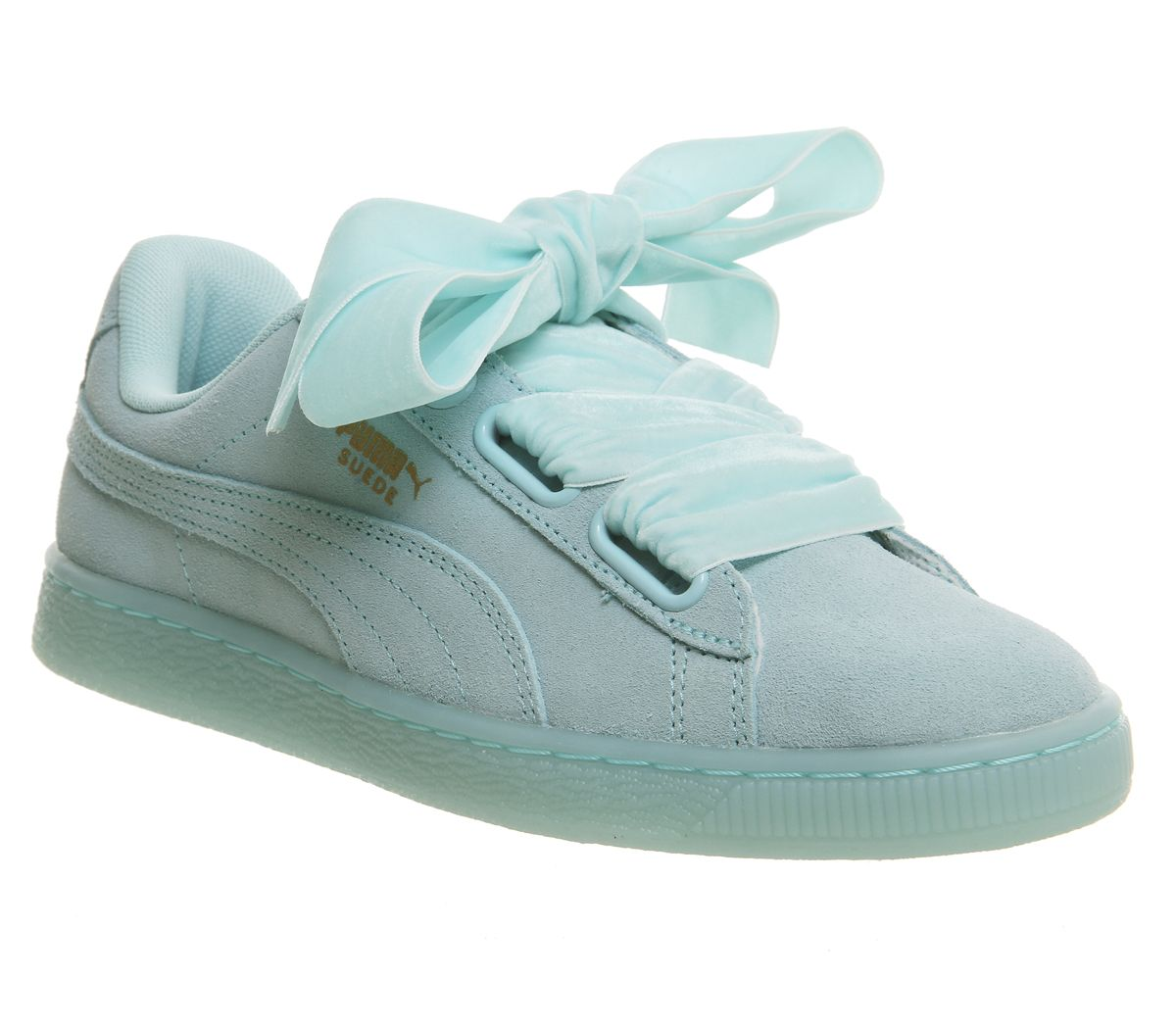 brand new b585a ad5c3 Suede Heart Trainers