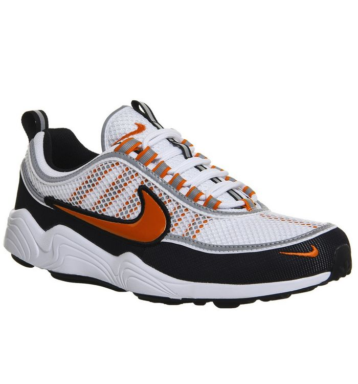 new product 950b8 474f1 Nike Zoom Spiridon Trainers  Nike, Nike Zoom Spiridon Trainers, White Team  Orange Black ...