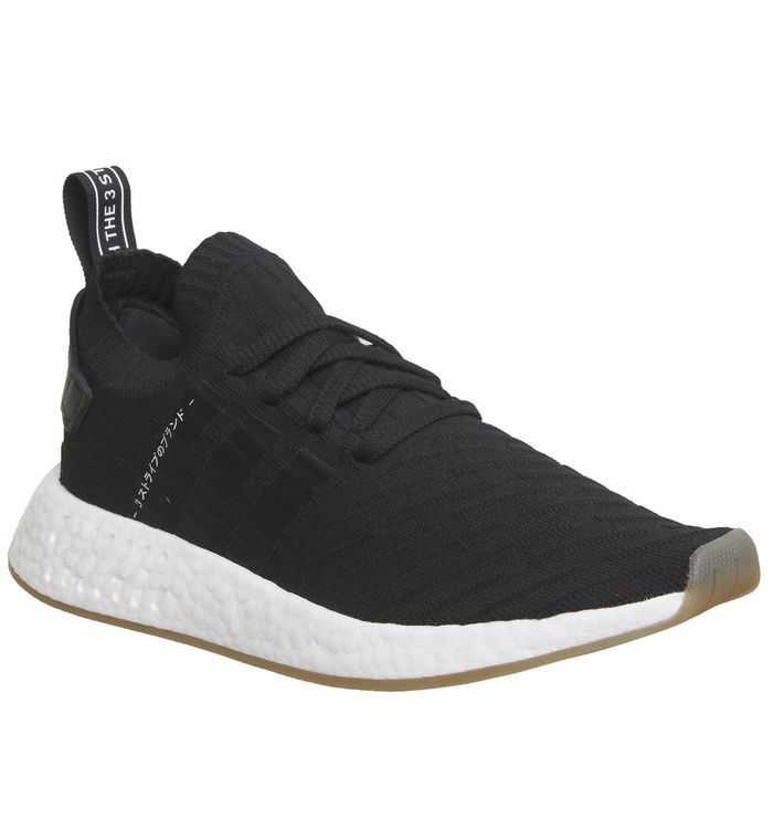 d2eb805242997 adidas Nmd R2 Pk Trainers Black White - Unisex Sports