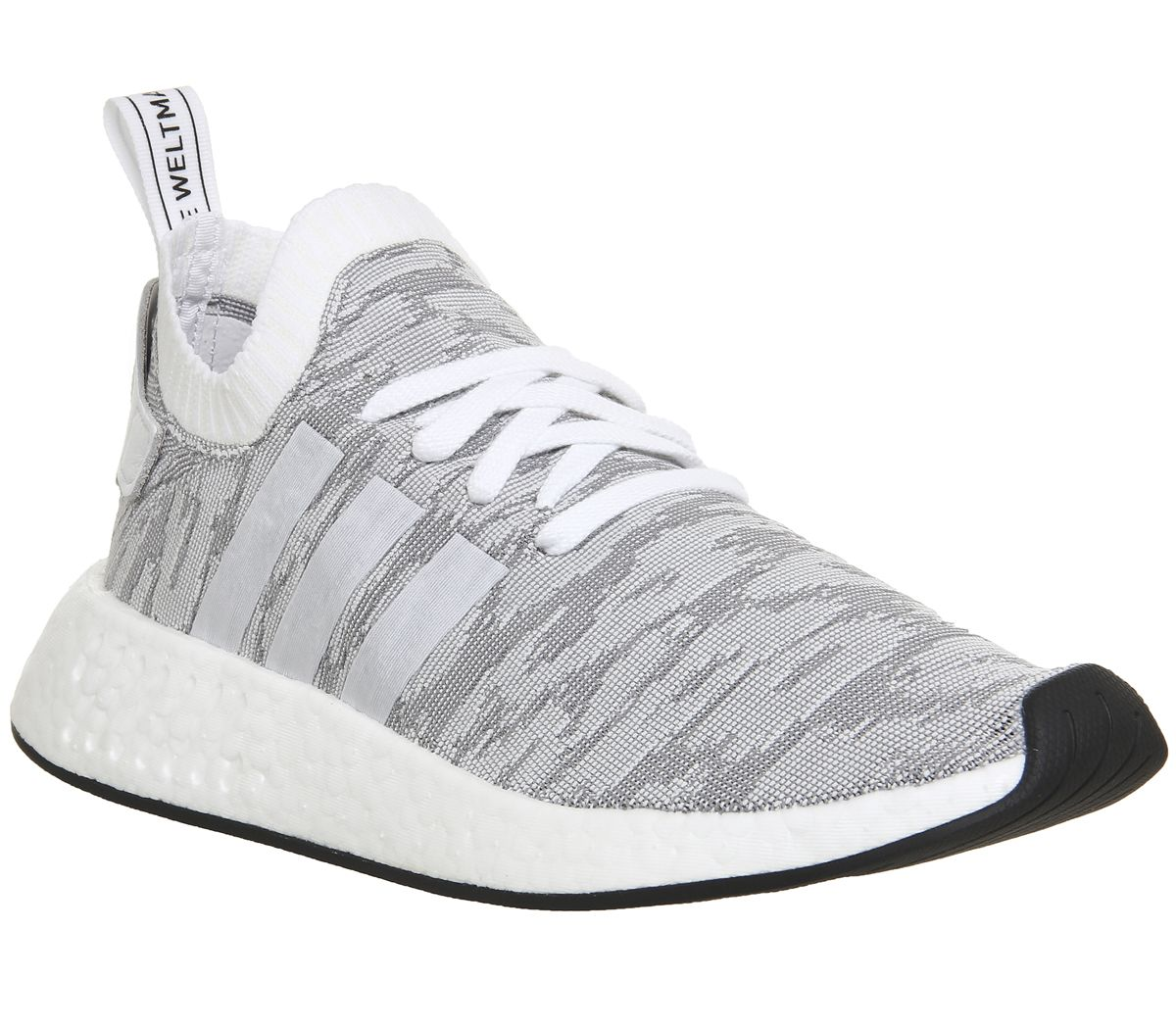 079b0514aea72 adidas Nmd R2 Pk White Black Red - His trainers