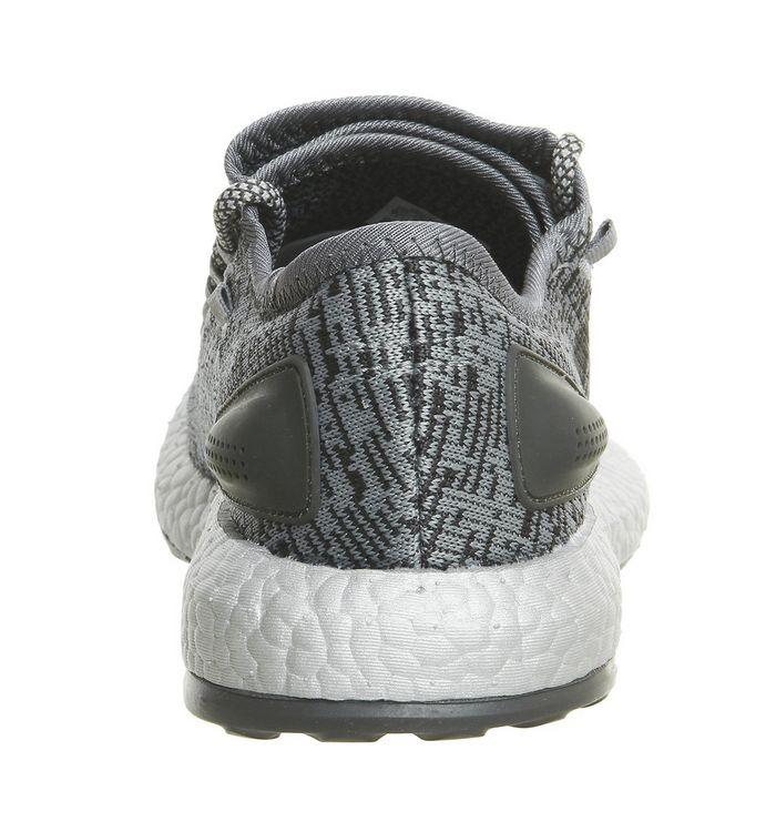 a3e3fa6d53686 adidas Statement Pureboost Statement Dark Grey Clear Grey - Unisex ...