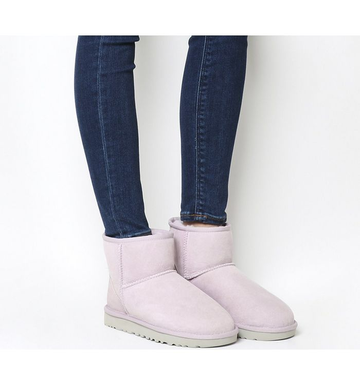 Ugg Classic Mini Ii Boots Oyster Ankle Boots