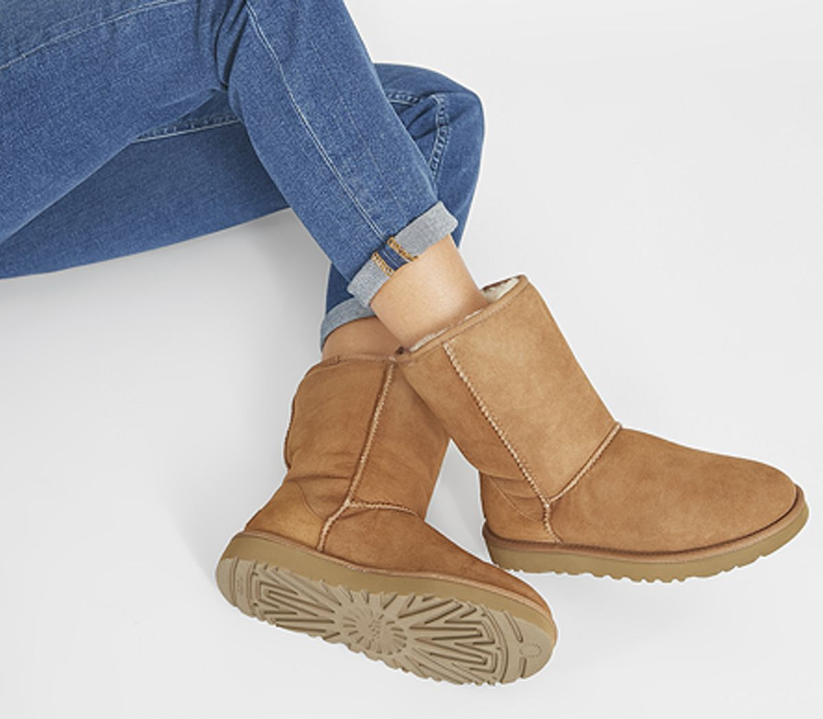 00e1feb59fe UGG Classic Short II Boots Chestnut Suede - Ankle Boots