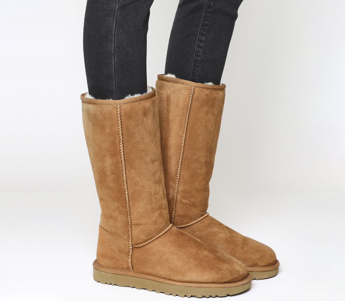 3ebd215543ac4 UGG Classic Tall II Boots Chestnut Suede - Knee Boots