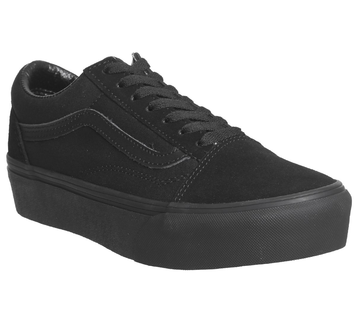 9afcf89caeef96 Vans Old Skool Platforms Black - Hers trainers