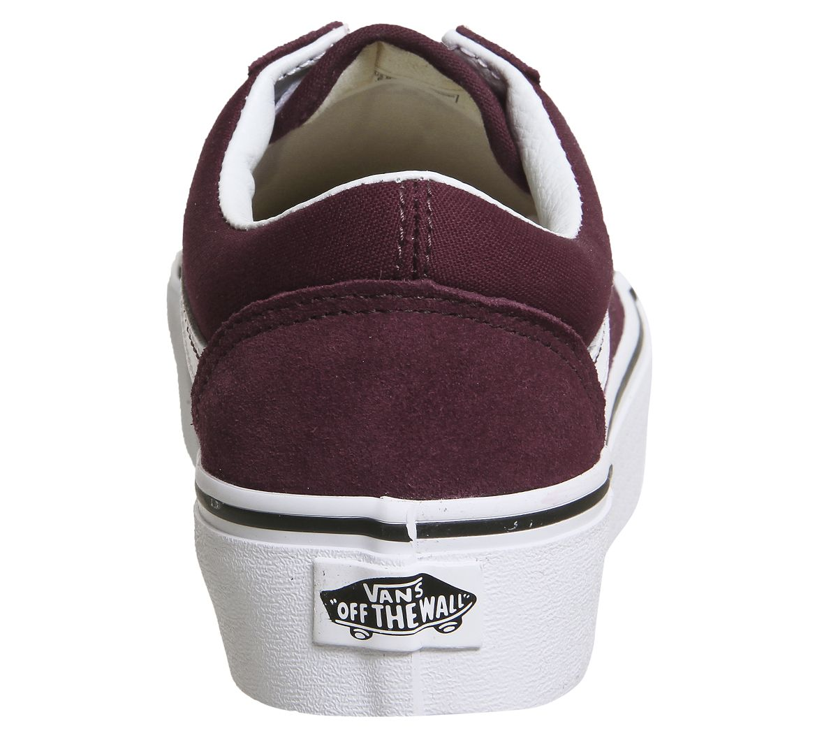 da33f85445bb Vans Old Skool Platforms Port Royale White - Hers trainers