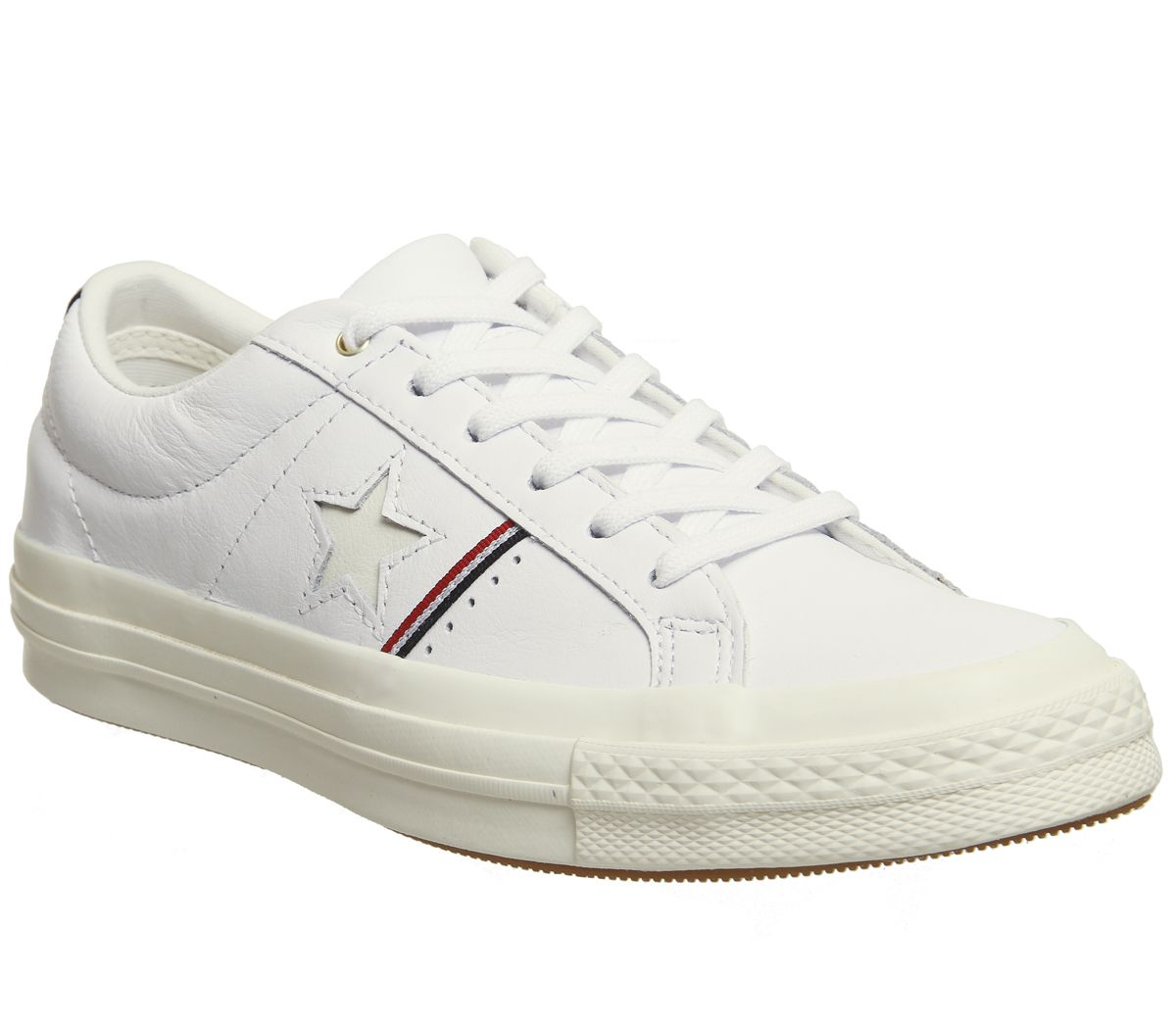 f4f965e12e32 Converse One Star White Enamel Red Egret - Hers trainers