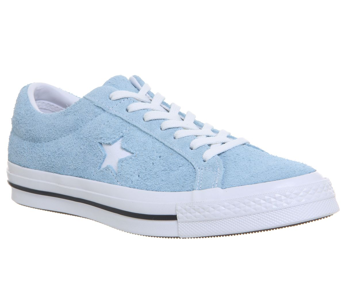 1793866bf61d Converse One Star Trainers Shoreline Blue White - Hers trainers
