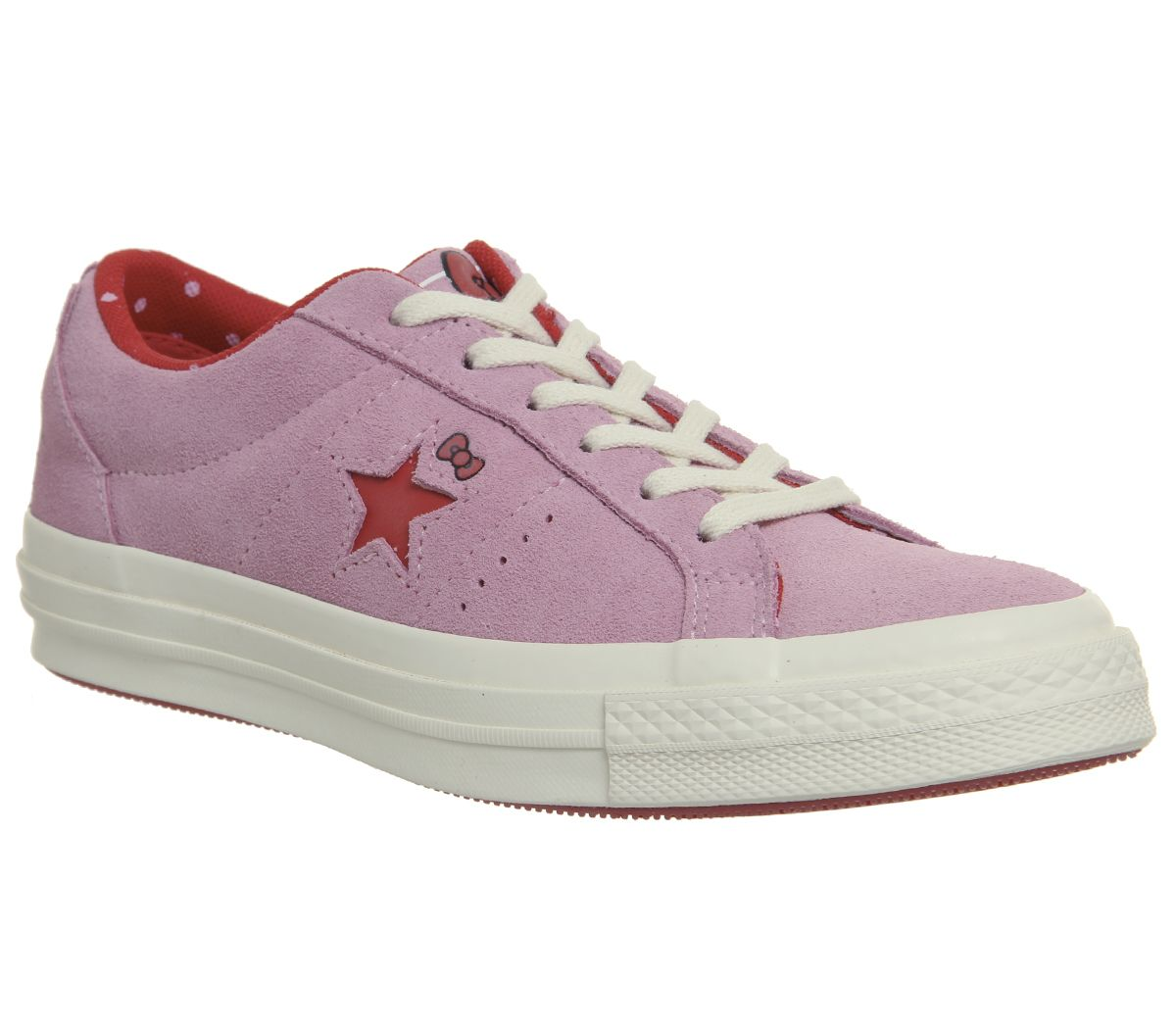 438e17d4c Converse One Star Trainers Pink Hello Kitty - Hers trainers