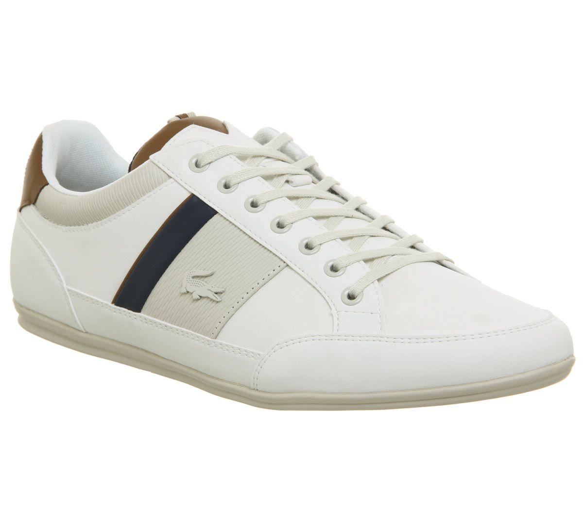 831c6d9e07fc Lacoste Chaymon Trainers Off White - His trainers