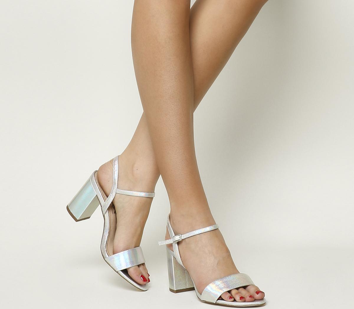 Millionaire Block Heel Sandals