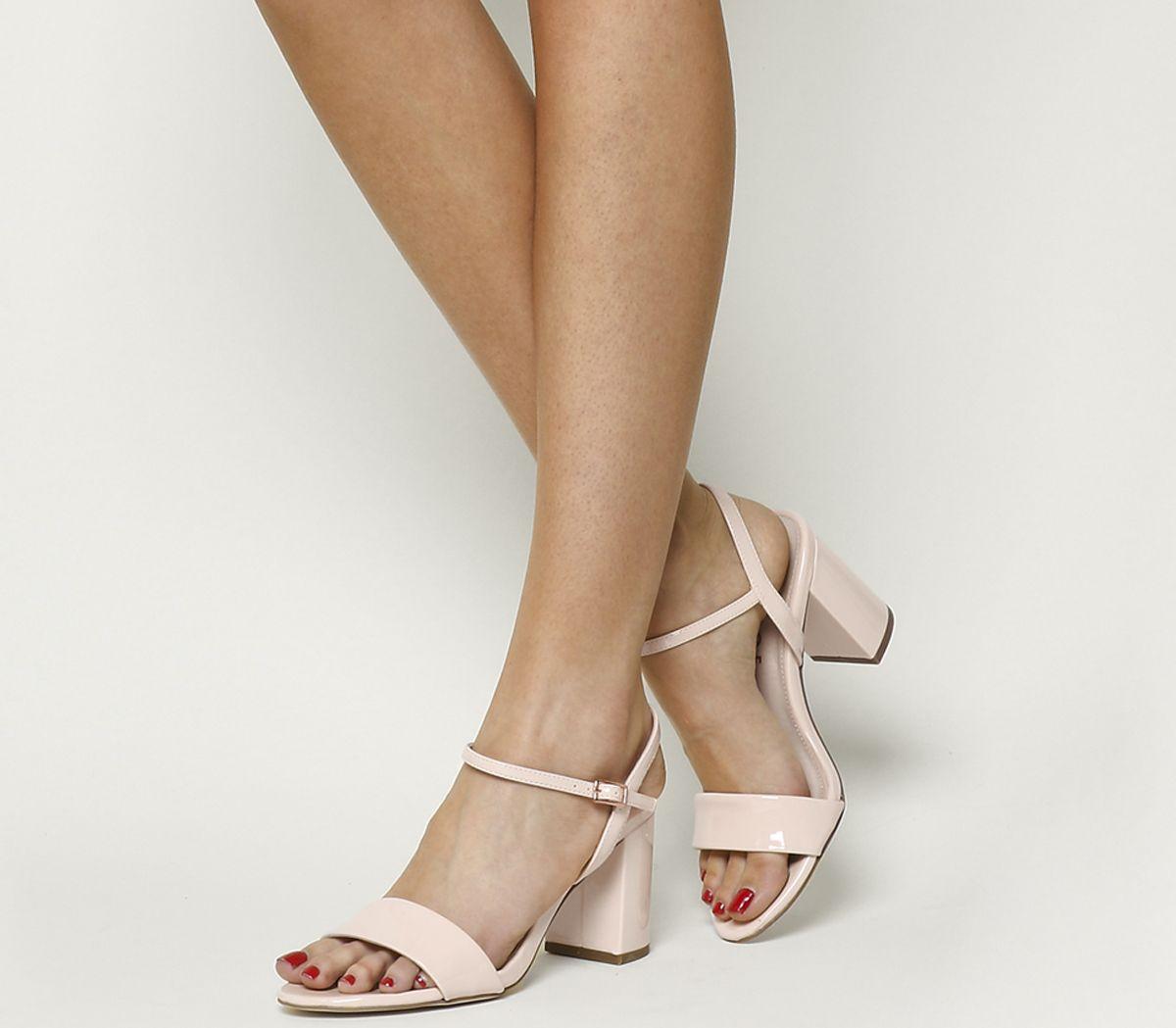 2d24cfa3b13 Millionaire Block Heel Sandals