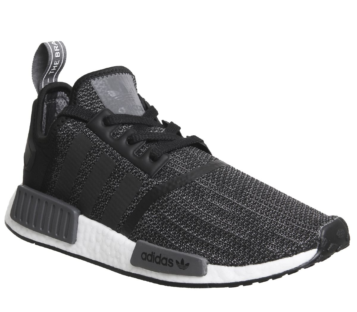 9ee88f7ed adidas Nmd R1 Trainers Core Black Grey White - His trainers