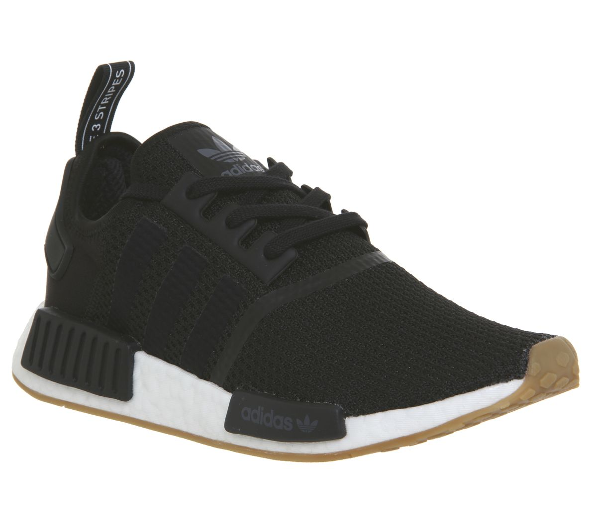 6ad3868a0 adidas Nmd R1 Trainers Core Black Core Black Gum - His trainers