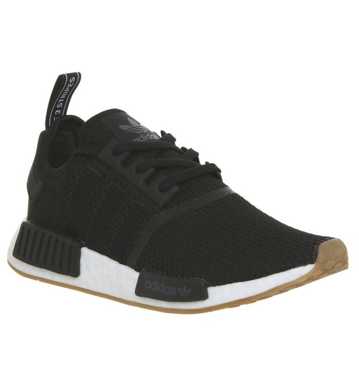 d247b1eb7487 Adidas Nmd R1 Trainers Core Black Core Black Gum - His trainers