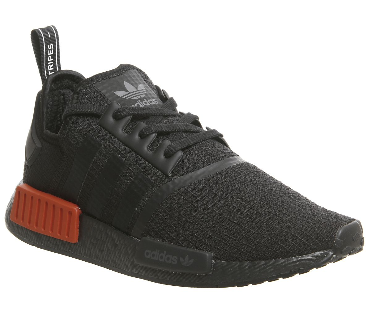 76a6ea7e9 adidas Nmd R1 Trainers Core Black Lush Red - His trainers