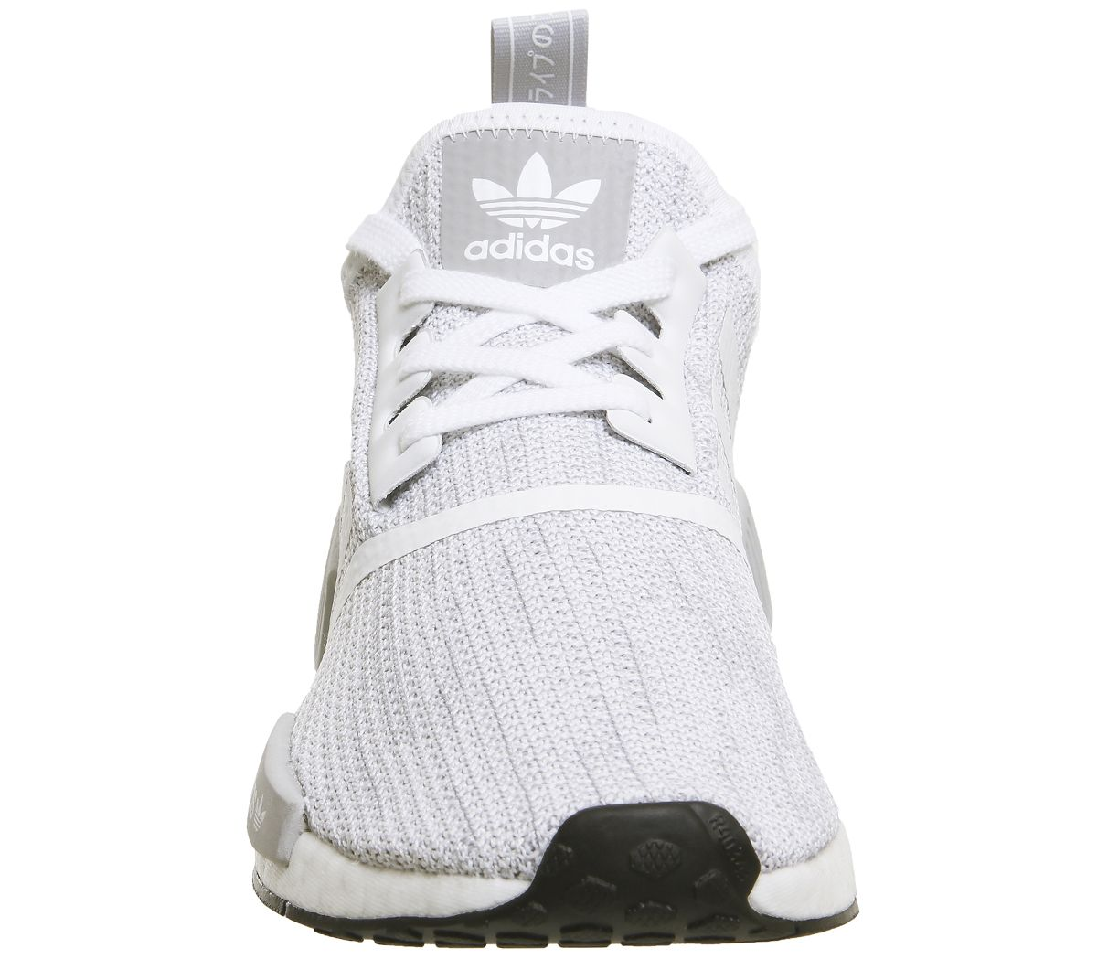 promo code e1366 835a4 adidas Nmd R1 Trainers White Grey Core Black - His trainers