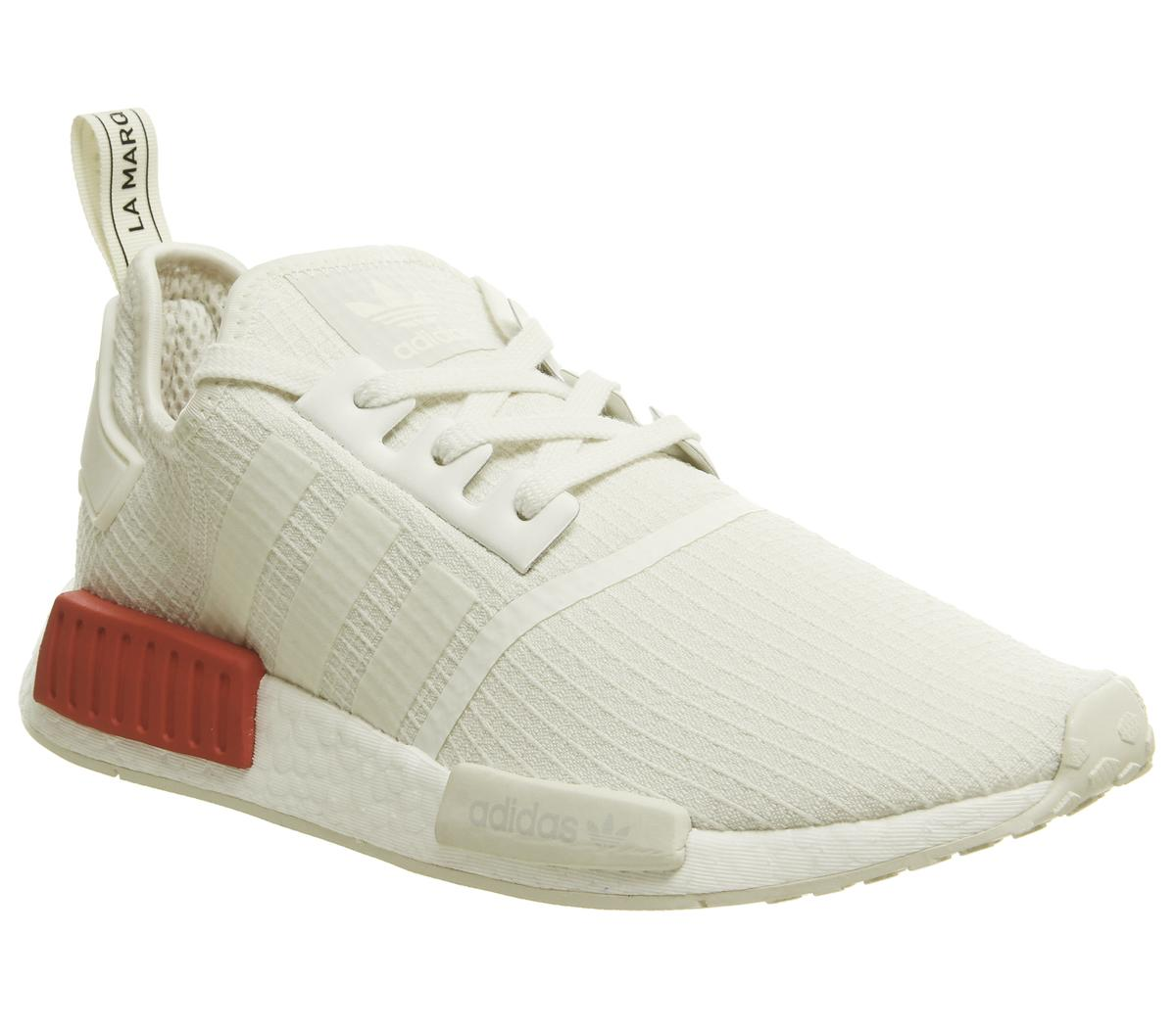 adidas Nmd R1 Trainers Off White Lush