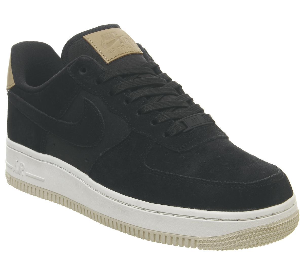 Nike Air Force 1 07 Trainers Hasta Summit White Vachetta Tan