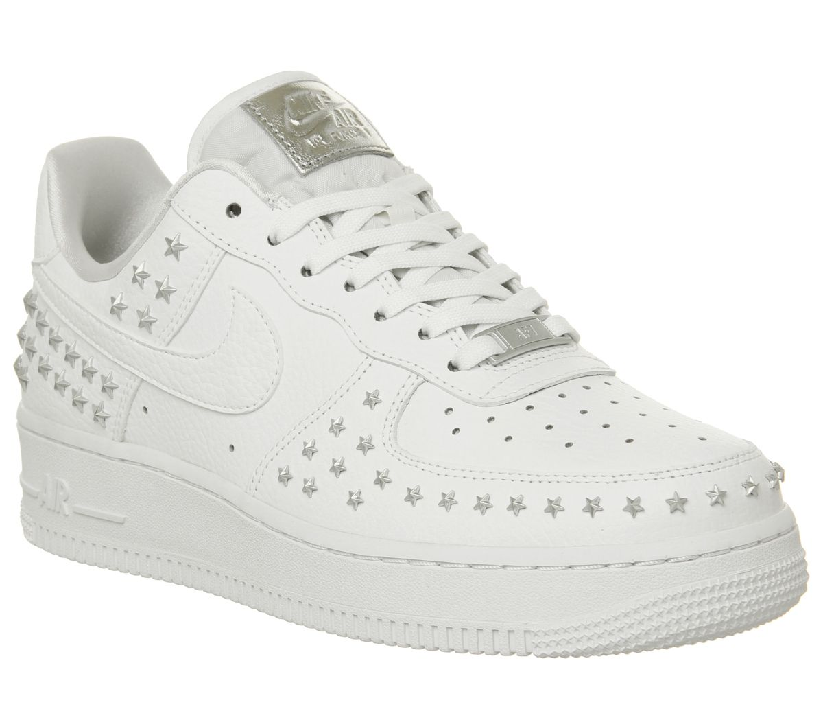the latest cfcd2 5baf0 Nike Air Force 1 07 Trainers White Star Stud - Hers trainers