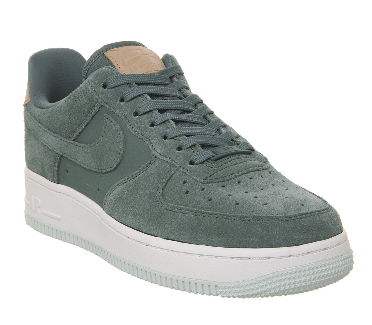 new product df23c acc39 Nike Air Force 1 07 Trainers Hasta Summit White Vachetta Tan - Hers ...